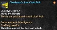 4 Charlatan's Jute Cloth Bolt