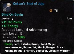 Kekvar's Stud of Juju
