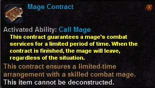 Mage contract