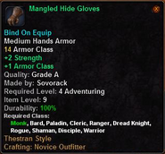 Mangled Hide Gloves