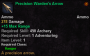 Precision Warden's Arrow