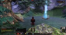 Fullmoon Spring with Purification Potion Equiped