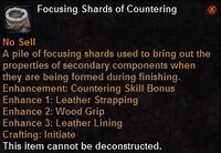 Focusing shard countering