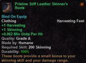 Pristine stiff leather skinner's boots