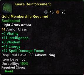 Aiea's Reinforcement