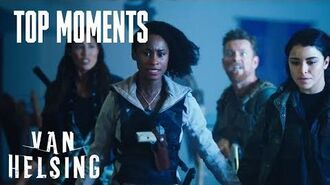 VAN HELSING Violet And Jack Try To Fight The Dark One Season 4 Episode 12 SYFY