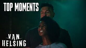 VAN HELSING Julius And Violet Fight Each Other Season 4 Episode 10 SYFY