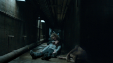 Nothing Matters 1x06 Susan hold Vanessa next to dead mutated vampire