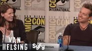 VAN HELSING Full Comic-Con Panel Syfy
