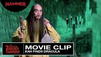 The Legend of the Seven Golden Vampires Kah Finds Dracula (Official Clip)