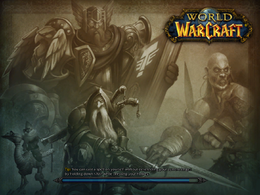 Vanilla Eastern Kingdoms Loading Screen