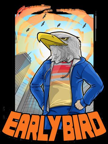 Early bird t shirt design by an0nym0useart-d8rszgw