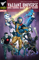 Valiant Universe RPG Comic Book Play Guide Cover