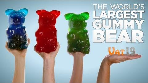The World's Largest Gummy Bear