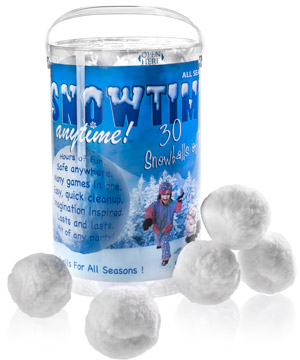 Snowtime-indoor-snow-balls