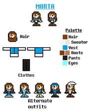 Marta reference