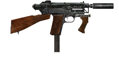 Jury-rigged 10mm SMG