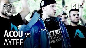 Acou vs Aytee RR VBT 2015 Viertelfinale
