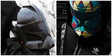 Farbflecken Maske - Acryl Maske
