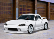Clean white mx-5