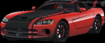 Dodge Viper ACR red