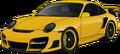 Porsche 911 GT3 yellow