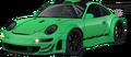 Porsche 911 GT3 RSR RS green