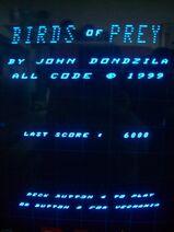 Birds Of Prey (Score- 6000)