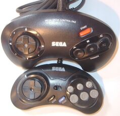 Mega Drive Controllers