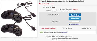 2 controller for 8 bucks shipped