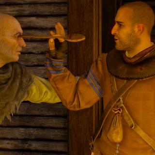 Гюнтер о'Дим убивает пьяницу