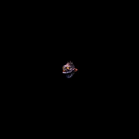 Голова Уреуса в снаряжении