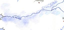 Йелена на карте