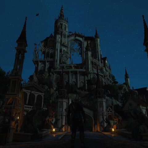 Боклерский дворец, яркий пример архитектуры Aen Seidhe