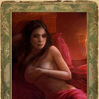 Секс-карточка с Королевой Ночи (альтернативный вариант)