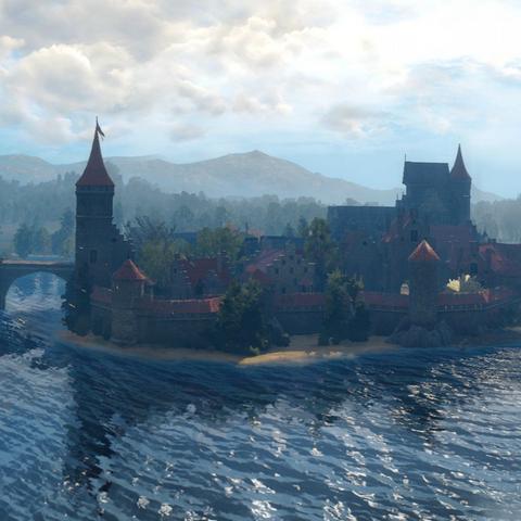 Вид на университетский остров