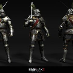 Темерский рыцарь. Рендер