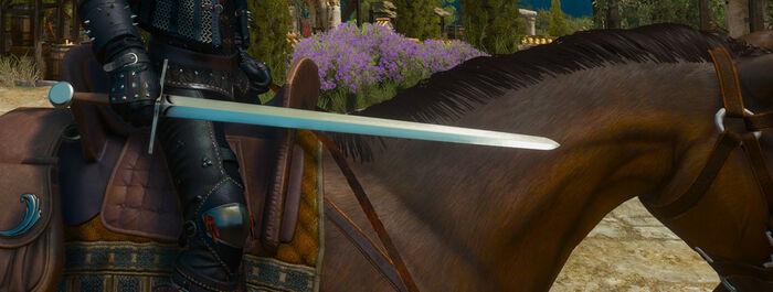 Веленский длинный меч В3