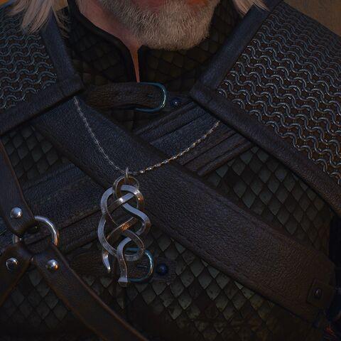 Медальон школы Змеи, Ведьмак 3: Дикая Охота
