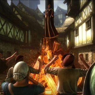 Казнь неизвестной чародейки, <i>Ведьмак 2: Убийцы Королей</i>