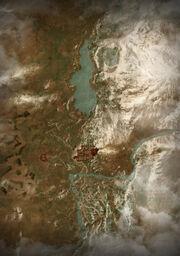 Карта долины каэр морхенВ3