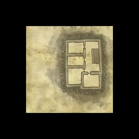Карта верхнего этажа