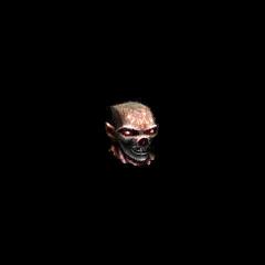Голова Оззрела в снаряжении