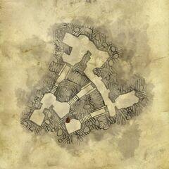 Карта катакомб
