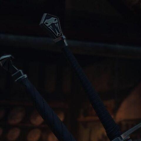 Рукояти мечей Школы Змеи