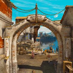Ворота порта