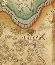 Хагга на карте