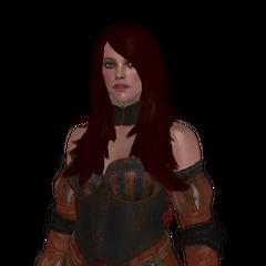 Рендер модели Иды в игре <i>Ведьмак 3: Дикая Охота</i>