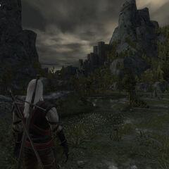На подходе к крепости