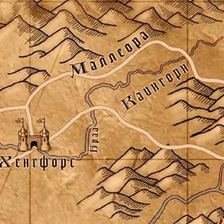 Карта Каингорна